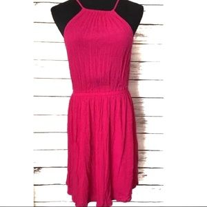 Forever 21 hot pink dress size M